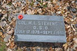Col Herbert Irving Stevenson