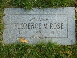 Florence D <I>Martin</I> Rose