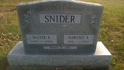 Walter K Snider