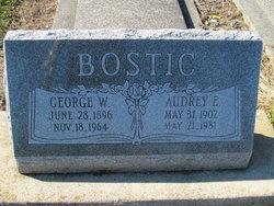Audrey Ethel <I>Buck</I> Bostic