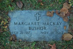 Margaret <I>Mackay</I> Bushor
