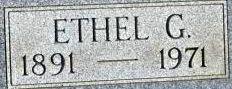 Ethel G. <I>DeWalt</I> Retter