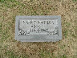 """Ann Matilda """"Nannie"""" <I>Thomas</I> Abell"""