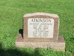 Eunice <I>Johnson</I> Atkinson