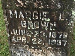 Maggie Lorene <I>Swilley</I> Brown