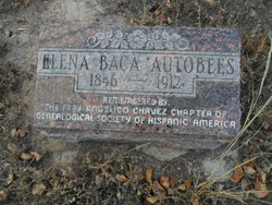Elena <I>Baca</I> Autobees