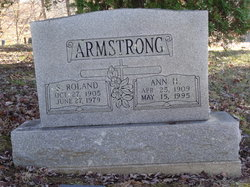 Ann Louise <I>Henry</I> Armstrong