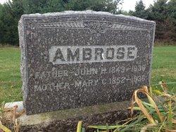 Mary C <I>Bowman</I> Ambrose