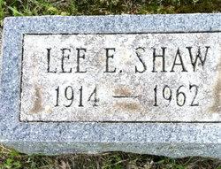 Lee E Shaw