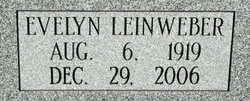 Evelyn <I>Leinweber</I> Walker