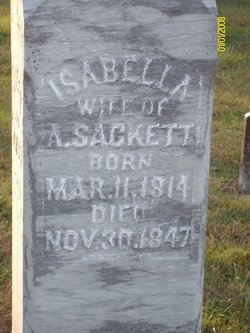 Isabella <I>Preston</I> Sackett