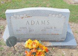 Lillie Minnie <I>Botard</I> Adams
