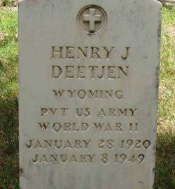 """Henry John """"Hank"""" Deetjen Jr."""