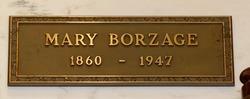 Mary C. <I>Ruigg</I> Borzage