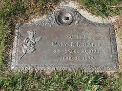 Mary F <I>Bogenshutz</I> Koester