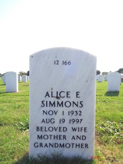 Alice E Simmons