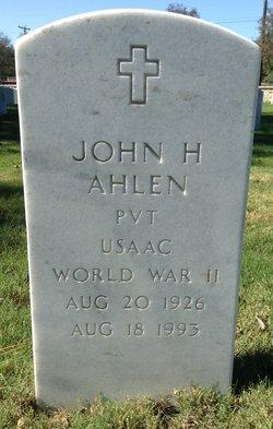 John H Ahlen