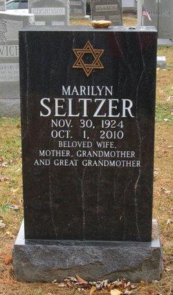 Marilyn <I>Steinberg</I> Feinstein Seltzer