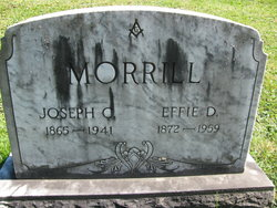 Effie D. Morrill