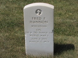 Fred F Hannon