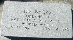 """Edward """"Ed"""" Byers"""