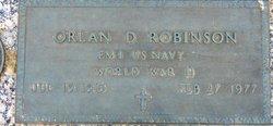 Orlan Dale Robinson