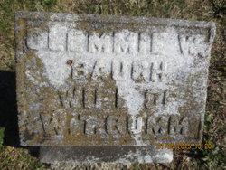 """Elizabeth W. """"Clemmie"""" <I>Baugh</I> Gumm"""