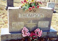 Virginia Belle <I>Dennis</I> Thompson