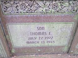 Lieut Thomas E. Barket