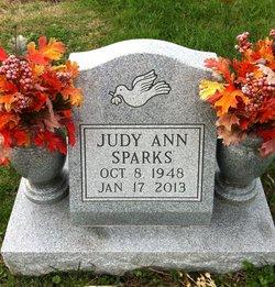 Judy Ann <I>Lawson</I> Sparks