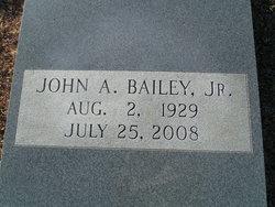 John A Bailey, Jr