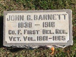John G Barnett