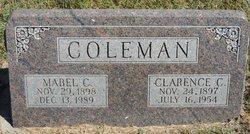 Mabel C <I>Schaad</I> Coleman