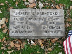 PFC Joseph J. Barkowski