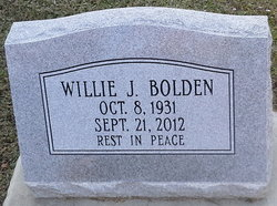 Willie James Bolden