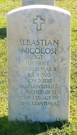 "Sebastian Andrew ""Serbie Steve"" Nicolosi"