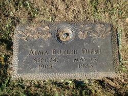 Alma M. <I>Hufford</I> Diehl