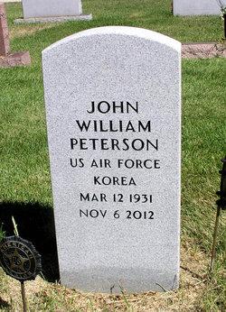 """John William """"Bill"""" Peterson"""