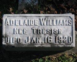 Adelaide Antoinette <I>Tresise</I> Williams