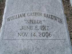 """William Gaston """"Speedy"""" Baldwin"""