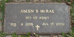 Allen B. McRae