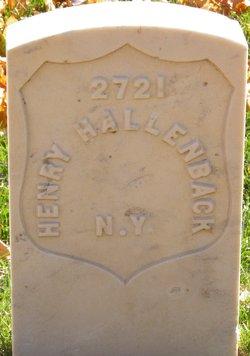 Henry Hallenback
