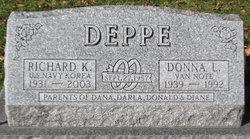 Donna L <I>Van Note</I> Deppe
