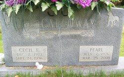 Cecil Edward Calloway