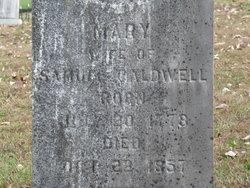 Mary <I>Rogers</I> Caldwell
