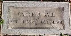 Carrie R. <I>Pfleger</I> Ball