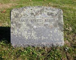Annie E <I>Newell</I> Abbott