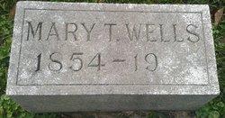 Mary T <I>Dearing</I> Wells