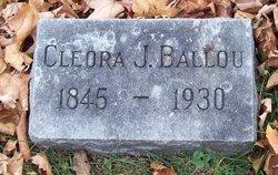 Cleora J. <I>Kimball</I> Ballou