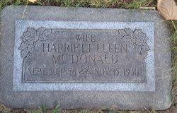 Harriet Ellen <I>Wilson</I> Mcdonald